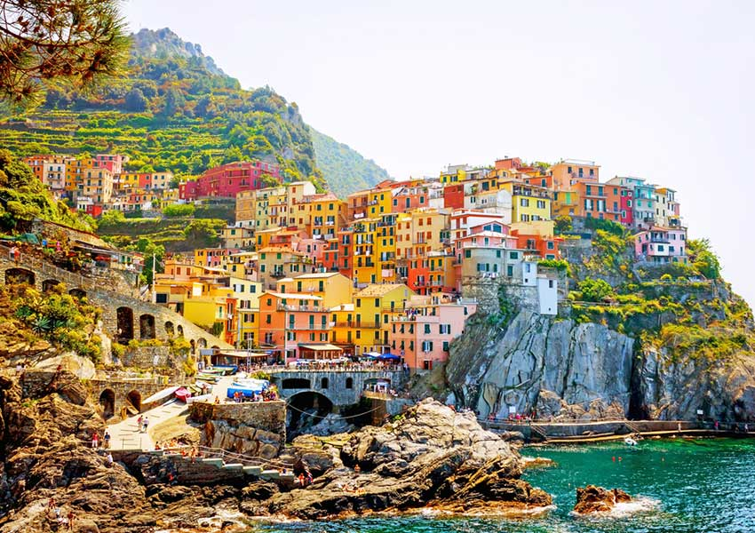 manarola authentic village seaside cinque terre italian riviera route yacht hire liguria dbg charter