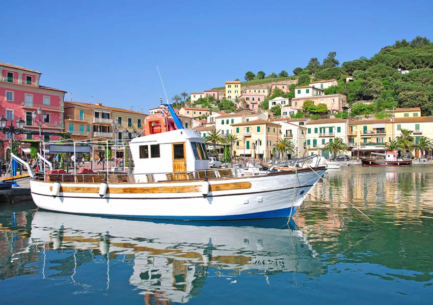 porto azzurro elba stop second day islands route sailing in the mediterranean