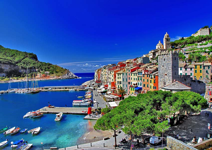 portovenere in province la spezia liguria italy with marina porto mirabello as base